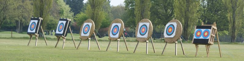 Canford Magna Bowmen, Field with targets